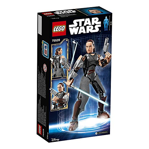 LEGO - Star Wars - Rey - 75528 - Jeu de Construction