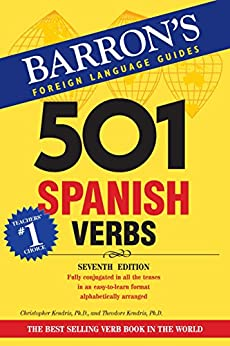 501 Spanish Verbs, 7th edition par [Kendris, Christopher, Theodore Kendris]