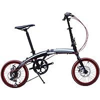 Bici Plegable De Aluminio De La Bici De Los Niños Bici Ultra Ligera De 16-