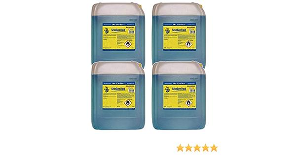 Mr Perfect Scheibenfrostschutz 4 X 5l Frostschutz Für Autoscheiben Wischwasser Winter Drogerie Körperpflege