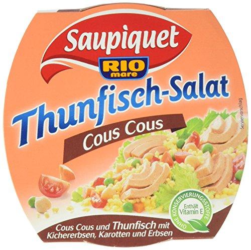 Saupiquet Thunfisch Salat Cous Cous, 6er Pack (6 x 160 g)