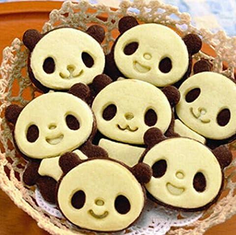 Lot de 4debout Panda Cookie Cutter Fondant Gâteau Sugarcraft Artisanat moule moule