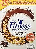 Nestlé Fitness - Cereales con Chocolate Negro - 8 Paquetes de 375 g