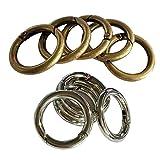 D DOLITY 10 Stücke Antike Bronze Karabinerverschluss Für Outdoor Sports Ring Schnalle Karabiner Verschlüsse