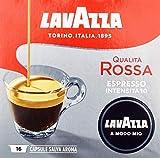 LAVAZZA A Modo Mio Espresso Qualita Rossa 16 Kapseln, 2er Pack (2 x 120 g)