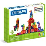 MAGFORMERS Tileblox Rainbow 104pc Building-and-Stacking-Toys (104 Piece)