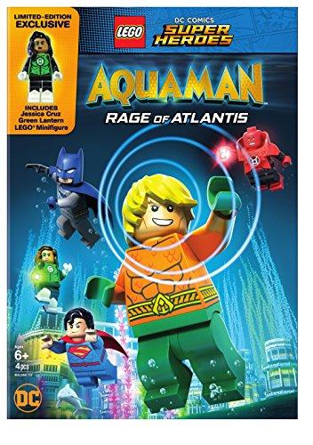 LEGO DC SUPER HEROES: AQUAMAN - RAGE OF ATLANTIS - LEGO DC SUPER HEROES: AQUAMAN - RAGE OF ATLANTIS (1 DVD) (Lego Stores)