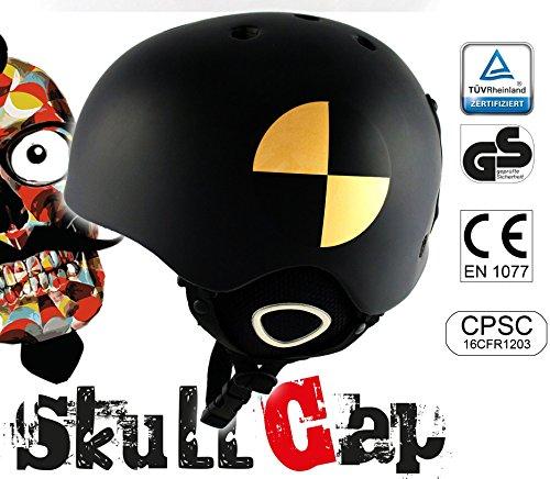 Skihelm Crash-Test Größe M