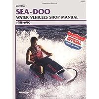 Clymer Sea-Doo Personal Watercraft Shop Manual (Sea Doo Jet Boat)