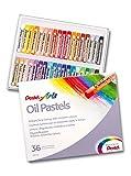 Pentel huile Pastel Set Pack of 36 Black/Blue/Brown/Green/Grey/Orange/Pink/Purple/Red/Violet/White/Yellow