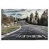artboxONE Poster 45x30 cm Sport/Motorsport Fahrbahn in