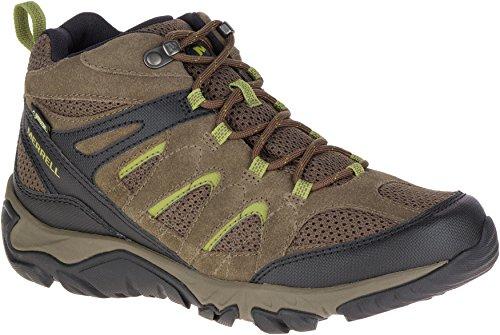 Merrell Outmost MID Vent GTX Shoes Herren Boulder Schuhgröße UK 8,5 | EU 43 2019 Schuhe Merrell Boulder