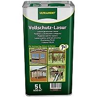 Ultrament 68258950195208 - Barniz de protección total 7 en 1 para madera de nogal (5 L)