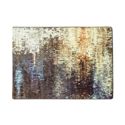 CY Alfombra simple del extracto del gradiente creativo abstracto Tabla de centro de la sala de estar Cama moderna de la cabecera Dormitorio delantero alfombra Alfombrilla del pie meng ( Color : #1 , Tamaño : 140*200cm )