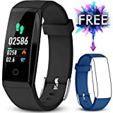 Winisok Fitness Tracker, Braccialetto Fitness Cardio IP67 Record di Movimento GPS, Impermeabile...