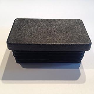 10 Stück Schutzkappe Lamellenstopfen 50x25, WS 1,0-2,25mm (schwarz (RAL 9005))