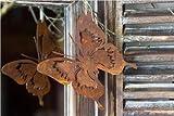 Schmetterling zum hängen, Rost Deko
