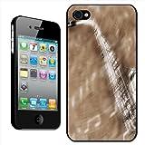 Fancy A Snuggle Coque arrière rigide pour iPhone 4/4S Motif saxophone et notes de musique