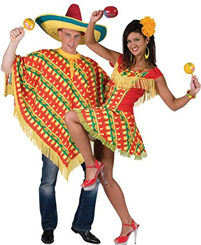Couples Ladies and Mens Mexican Spanish Wild West Costumes Set.