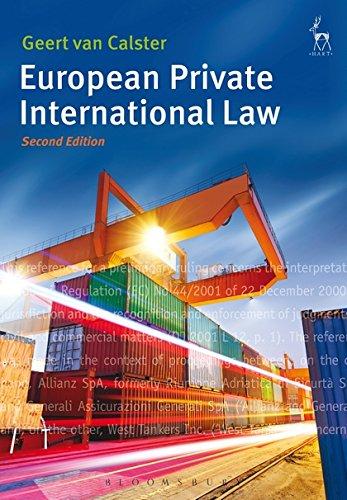European Private International Law por Geert van Calster