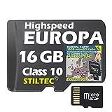 Topo Europa für Garmin Astro 220 320 Karte HUNDEORTUNG NEU AKTUELL  ORIGINAL von STILTEC