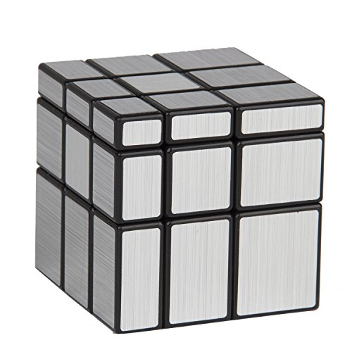 Adichai 3X3X3 Silver Mirror Cube Magic Cube Shengshou