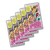 Topps Disney Prinzessin 2017 Trading Card 5x Boosterpackung - Deutsche Ausgabe