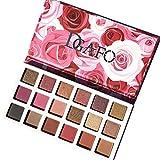 Allbesta 18 Farben Rose Gold Lidschatten Palette Schimmer Glitter Matt Make-Up Wasserdicht Langlebig