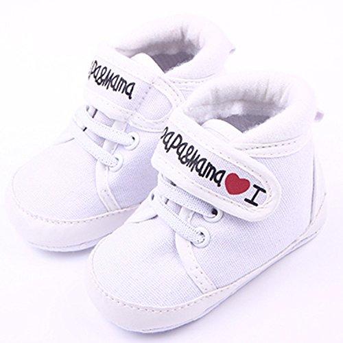 xhorizon® Baby Kinder PU LederStoffKleinkindSchuhe Sandale Weiß