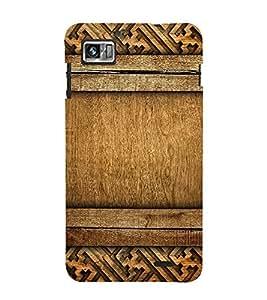 FUSON Old Wood Background Carving 3D Hard Polycarbonate Designer Back Case Cover for Lenovo K860 :: Lenovo IdeaPhone K860