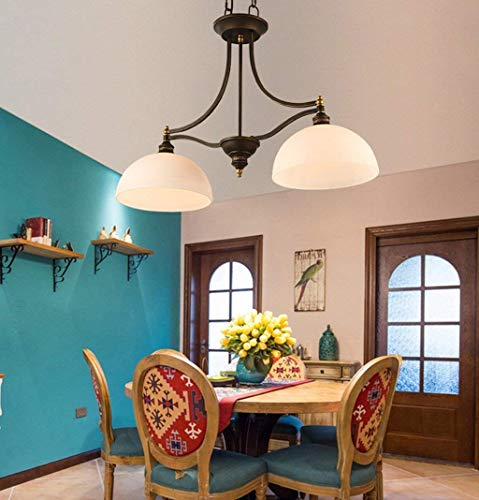 WHKHY Creative Retro 1 - Light Pendants Lobby, Schlafzimmer, Gänge, CAF Eacute, Flushs, Eaterys, Indoor-Anhänger (Stil: (B),A40cm -