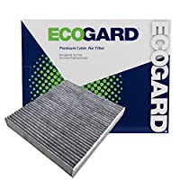 EcoGard XC10218C Premium Cabin Air Filter with Activated Carbon Odor Eliminator Fits Lexus GS350 2013-2019, IS250 2014-2015, IS350 2014-2019, IS300 2017-2019, IS200t, RC200t 2017