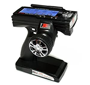 FS RC Model FS-GT3B 3ch 2.4GHz LCD R/C Hobby Transmitter & Receiver TS898 with RCECHO Full Version Apps Edition