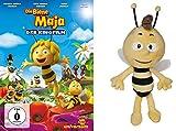 Die Biene Maja - Der Kinofilm + Plüschtier Willi ca. 20 cm im Set - Deutsche Originalware [1 DVD]