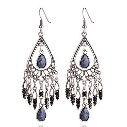 harmon-retro-tassel-chandelier-drop-earrings-antique-bead-tassel-earrings