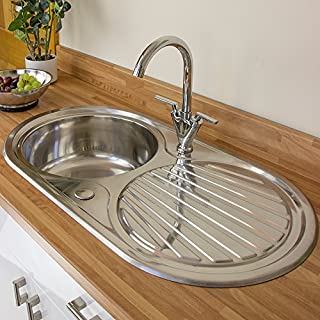 Astini Zerox 1.0 Bowl Brushed Stainless Steel Kitchen Sink & Tap