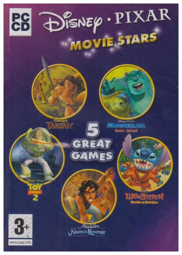 Movie Stars 5 Pack (Toy Story 2, Tarzan, Lilo & Stitch, Aladdin, Monsters Inc) (PC) -