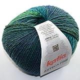 Katia Azteca Fine–Color: Verdes (211)–100g/aprox. 270m lana