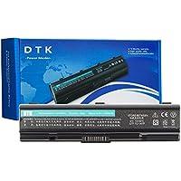 DTK Batería de Repuesto para Portátil for TOSHIBA PA3534U-1BRS PA3533U-1BRS PA3535-1BAS EQUIUM SERIES Satellite A200 A205 A210 A215 A305 A350 A500 A505 L200 L202 L300 L305 L500 L505 M200 M202 M203 [10.8V 4400MAH 6CELLS]
