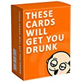 These Cards Will Get You Drunk- Divertido Juego de Beber para Adultos para Fiestas