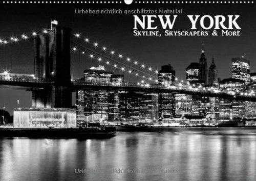 NEW YORK - Skyline, Skyscrapers & More (Wandkalender 2014 DIN A2 quer): Ausdrucksstarke Motive aus New York City! Monatskalender, 14 Seiten