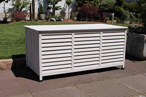 Leco Vintage weiß Kissenbox, 330 liters, Breite 130 cmTiefe 64 cmHöhe: ca. 60 cm