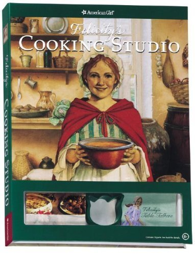 Felicity's Cooking Studio [With 22 Yummy Recipes, 10 Reusable Place Cards and 20 Table Talkers, 3 Felicity-Inspired Parties a (American Girl) by Athan, Polly, Berstein, Rebecca Sample, Braun, Terri (2007) Spiral-bound