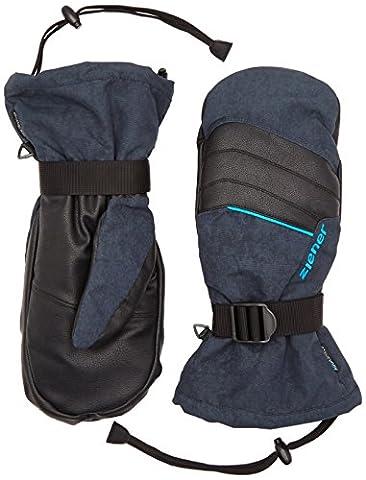 Ziener Herren Handschuhe Mega AS Mitten Touch 3-in-1 Gloves, Dark Shadow Splash, 9, 151707 (Glove Dark Shadow)