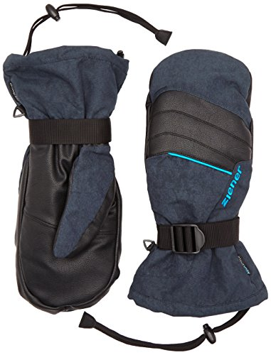 Ziener Herren Handschuhe Mega AS Mitten Touch 3-in-1 Gloves, Dark Shadow Splash, 9.5, 151707