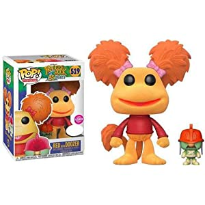 Figura POP Fraggle Rock Red with Doozer Flocked Exclusive