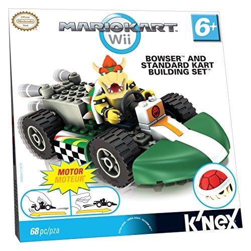 o Kart Wii - Bowser und Standard Kart Building Set - mit Rückzugmotor - 68 Teile ()