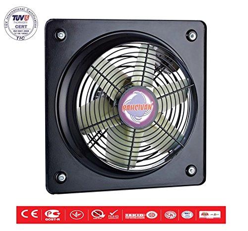 Ventilador de flujo axial ventilador industrial metal ventilador de muro ventilador de ventana ø450 6100m³//h
