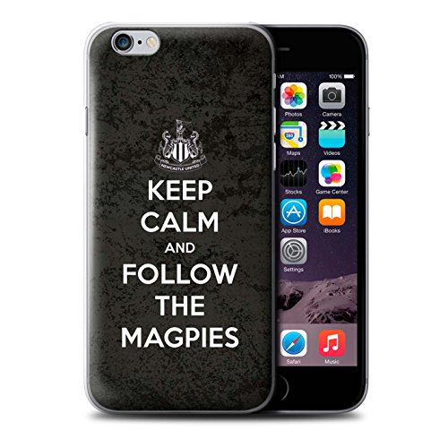 Offiziell Newcastle United FC Hülle / Case für Apple iPhone 6 / Pack 7pcs Muster / NUFC Keep Calm Kollektion Folgen/Magpies