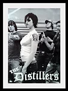 "Distillers Brody Dalle tour poster (affiche) approx 34"" x 24"" inch ( 87 x 60 cm)new large"